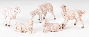 Sheep White 5 Piece Set