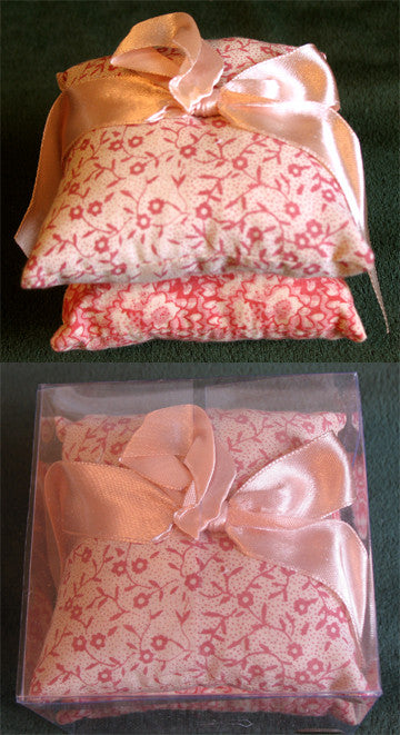 Sachet Pillows (F) Pink - Scented Rose 8.0cm x 8cm x 7.0cm