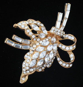 (JF) Brooch with Swarovski Crystals J038-B69