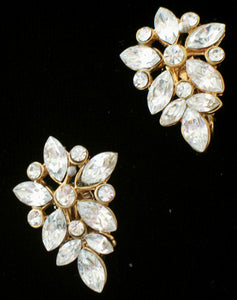 (JF) Earrings with Swarovski Crystals J038-E168