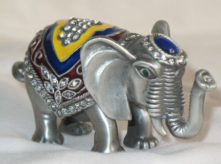 Trinket Elephant Figurine