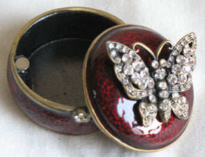 (T) * Jeweled Butterfly Trinket Box * SOLD OUT!