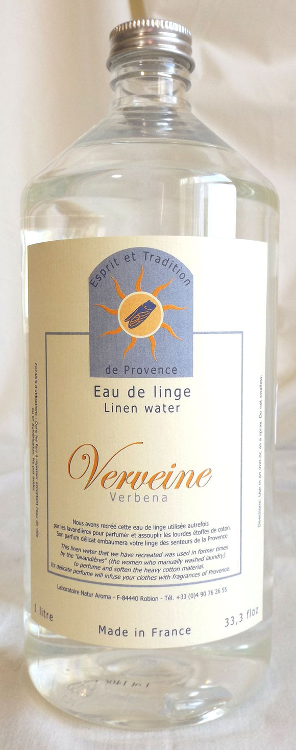 (S) LIMITED STOCK - LINEN WATER - Verbena - 1000 ml