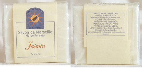 (S) Marseille Vegan Soap - Jasmin Fragrance 100 g