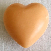 (S) Heart Soap - 25 g Cinnamon/Orange Fragrance