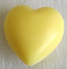 (S) Heart Soap - 25 g Honeysuckle Fragrance