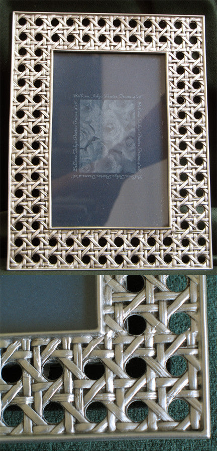 (P) Pewter Picture Frame 4 x 6