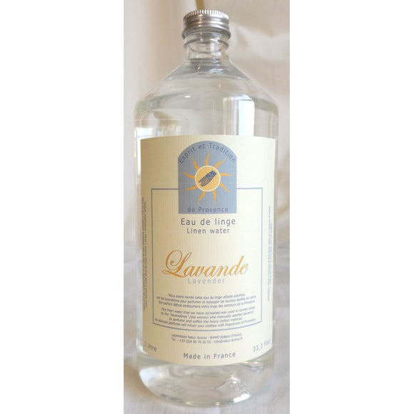 (S) LIMITED STOCK - LINEN WATER - Lavender - 1000 ml - LW1000-L