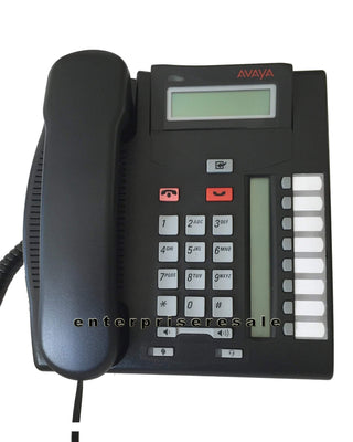 Avaya Phone Avaya T7208 Nortel Phone Charcoal Digital (NT8B26) BCM NT8B26AAMAE6
