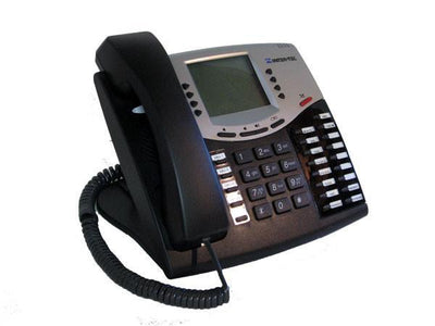 Inter-Tel Phone Inter-tel 8662 (550.8662E) Black IP Large Display Phone Axxess Mitel Ref