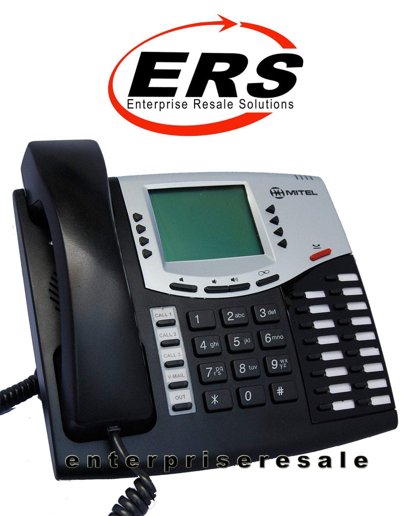 Inter-tel 8662P (550 8662P) IP Phone Black Axxess Mitel Refurbished
