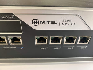 Mitel VoIP Business Phones/IP PBX Mitel 3300 MXe III (50006296) ICP Controller, T1/E1 56004541, 50002979, 50005184