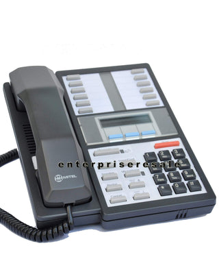 Mitel Phone Mitel 420 Superset Phone Dark Gray (9115-500-000-NA) Black Grade C