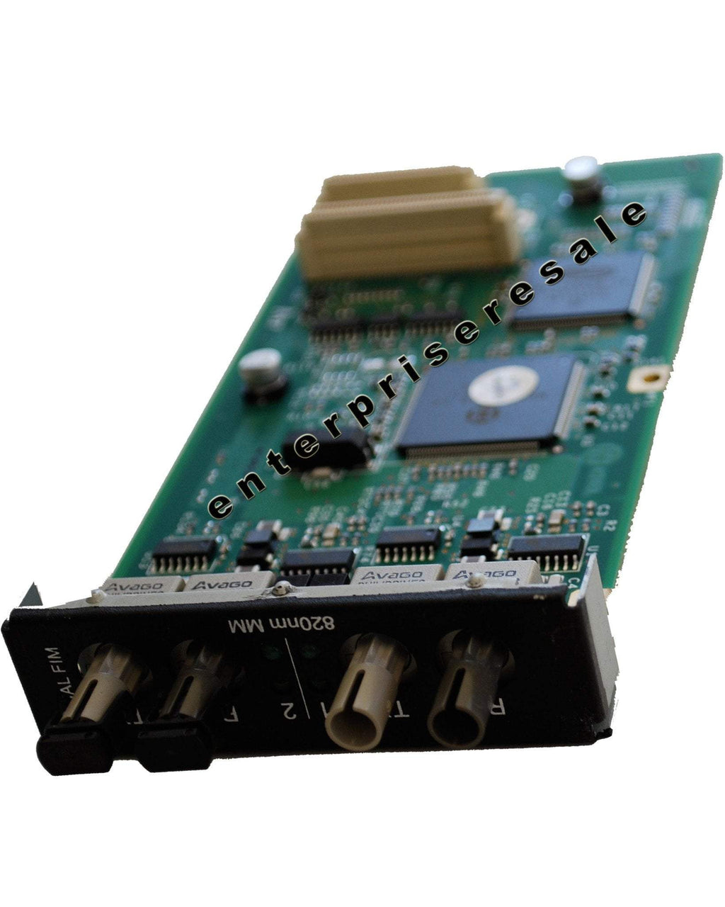 Enterprise Resale Phone Switching Systems, PBXs Mitel (50001248) Dual FIM Fiber Interface Module 820nm MM RX TX 3300