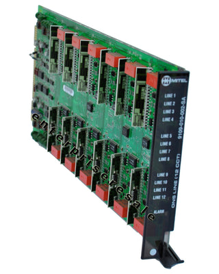 Mitel Phone Switching Systems, PBXs Mitel (9109-010-002-SA) ONS Line Card 12 CCT SX-200