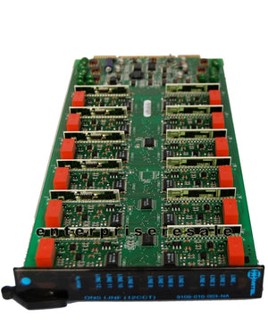 Mitel Phone Switching Systems, PBXs Mitel (9109-010-003-NA) ONS blue BONS Line Card 12 CCT SX-200