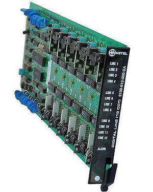 Mitel Phone Switching Systems, PBXs Mitel (9109-012-000-SA) Digital Line 12 cct DNIC SX-200