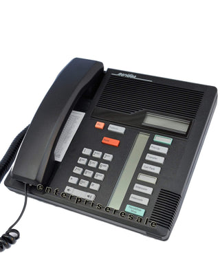 Nortel Phone Nortel M7208 Black Phone (NT8B30) 6 Lines