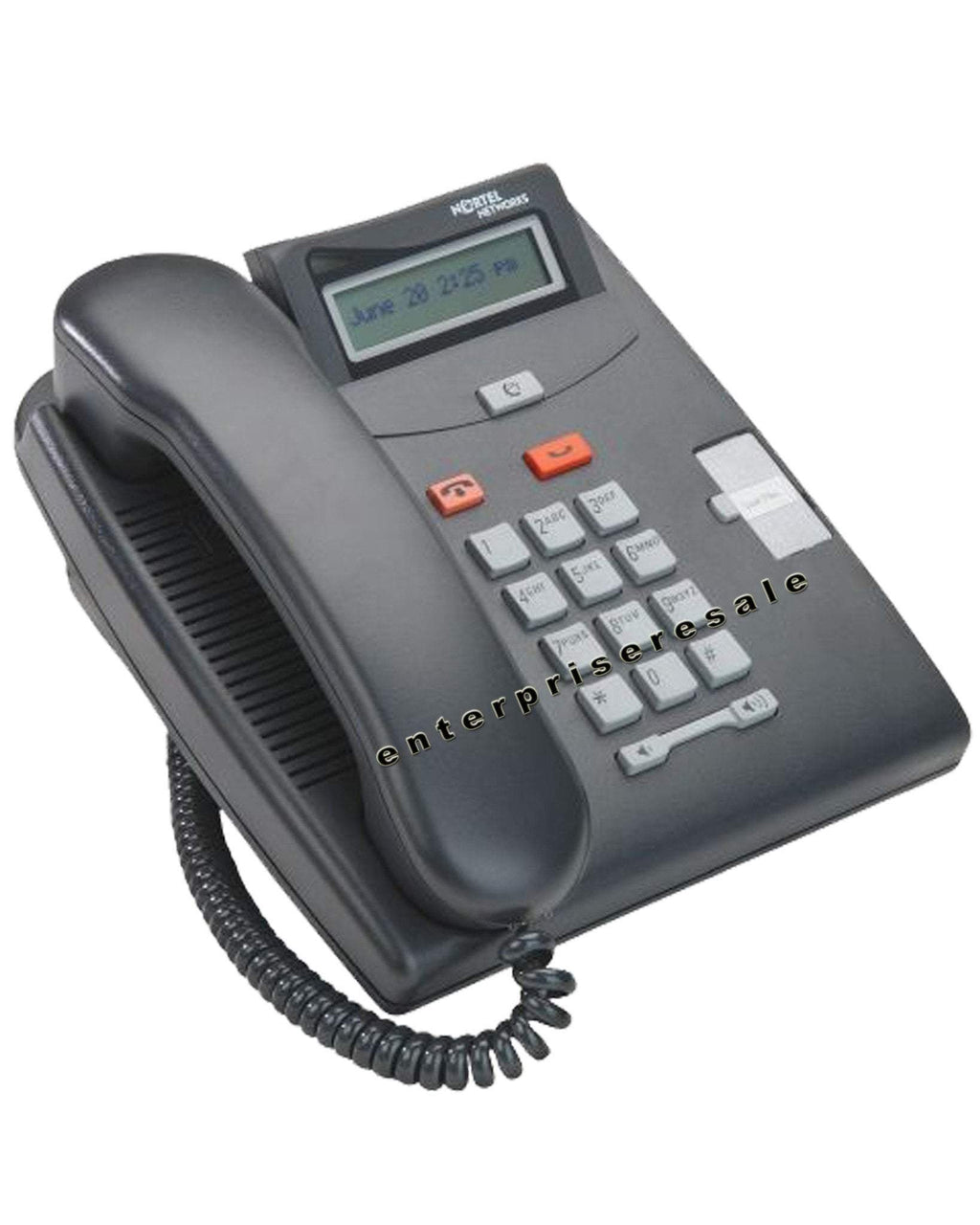 Nortel Phone Nortel T7100 Digital Phone Charcoal (NT8B25) Refurbished