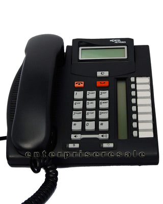 Nortel Business Phone Sets & Handsets Nortel T7208 charcoal display phone (NT8B26) Refurbished