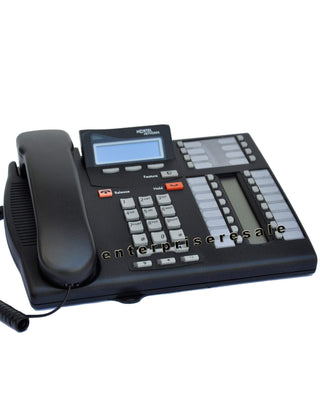 Nortel Phone Nortel T7316E Enhanced Norstar Phone (NT8B27AAA) Charcoal Refurbished