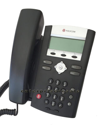 Polycom IP Phone Polycom SoundPoint IP 330 Phone (2201-12330-025) POE IP330 Refurbished