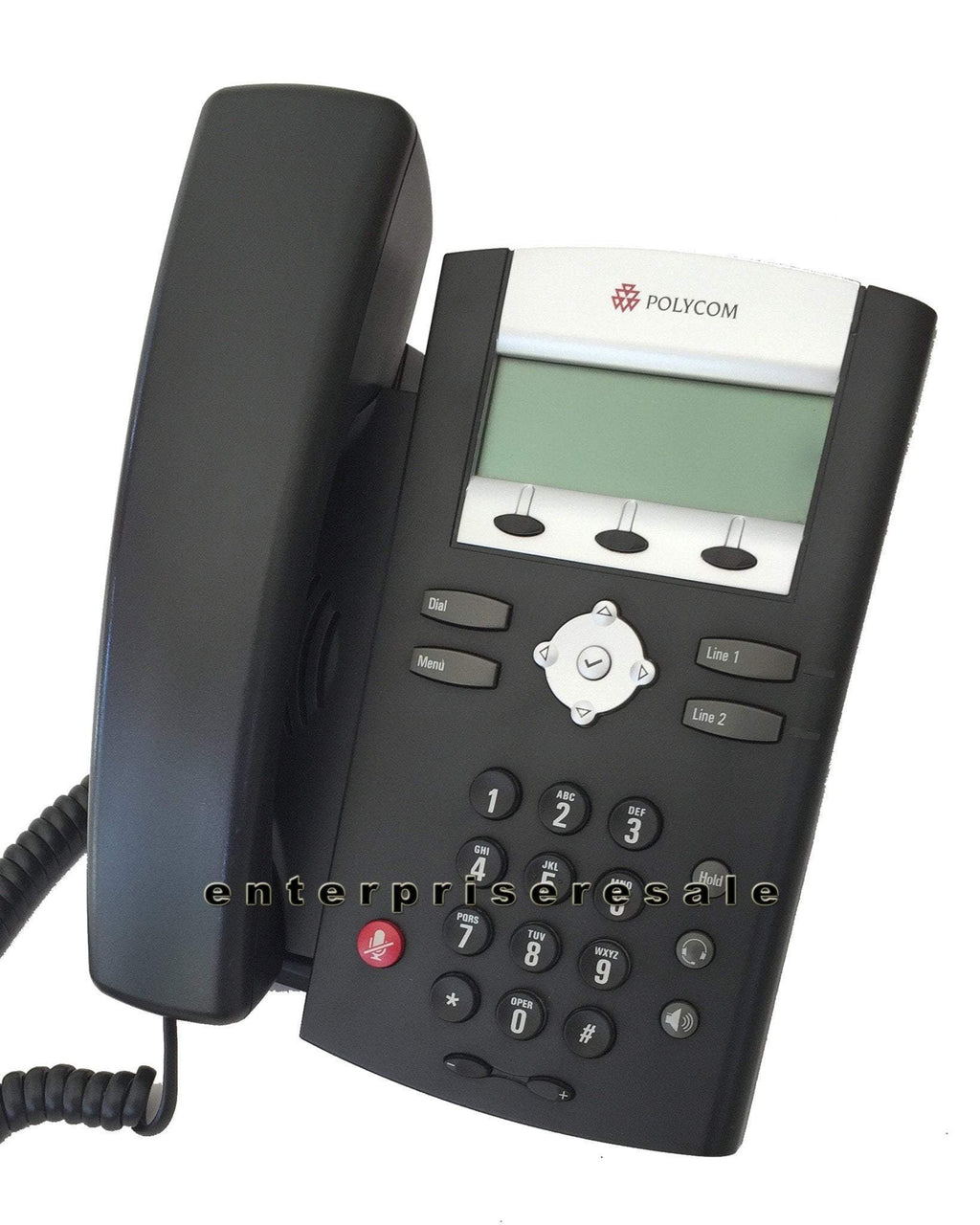 Polycom IP Phone Polycom SoundPoint IP 330 Phone POE 2201-12330-025 IP330 Reduced Price