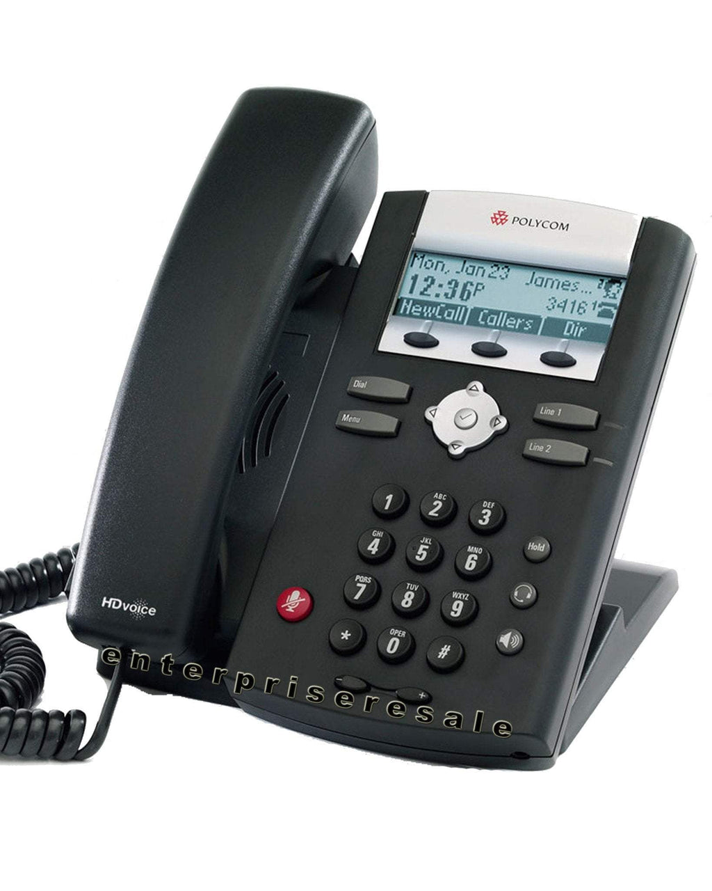 Polycom IP Phone Polycom SoundPoint IP 335 Phone POE IP335 (2201-12375-025)