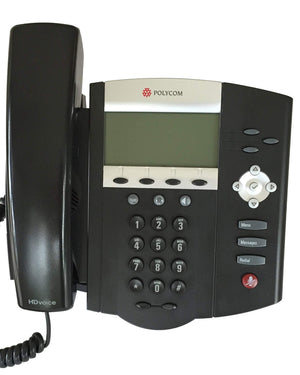 Polycom IP Phone Polycom SoundPoint IP 450 Phone POE IP450 (2201-12450-025) Grade C