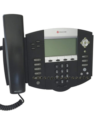 Polycom IP Phone Polycom SoundPoint IP 550 Phone POE IP550 (2201-12550-025) Refurbished