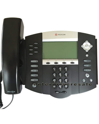 Polycom IP Phone Polycom SoundPoint IP 650 POE Phone IP650 (2201-12630-025) Grade C