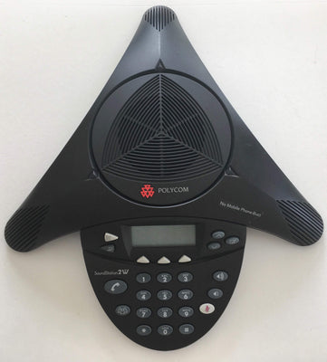 Polycom Conference Equipment Polycom SoundStation 2W 2201-67800-022 G 2.4 GHz Wireless Conference Reduced