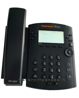 Polycom IP Phone Polycom VVX 311 Ring Central IP Gigabit Phone 2314-48350-007 VVX311 POE Grade A
