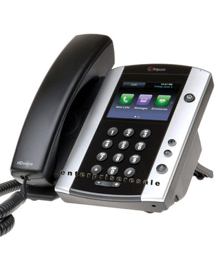 Polycom IP Phone Polycom VVX 501 IP Phone (2200-48500-025) POE Refurbished