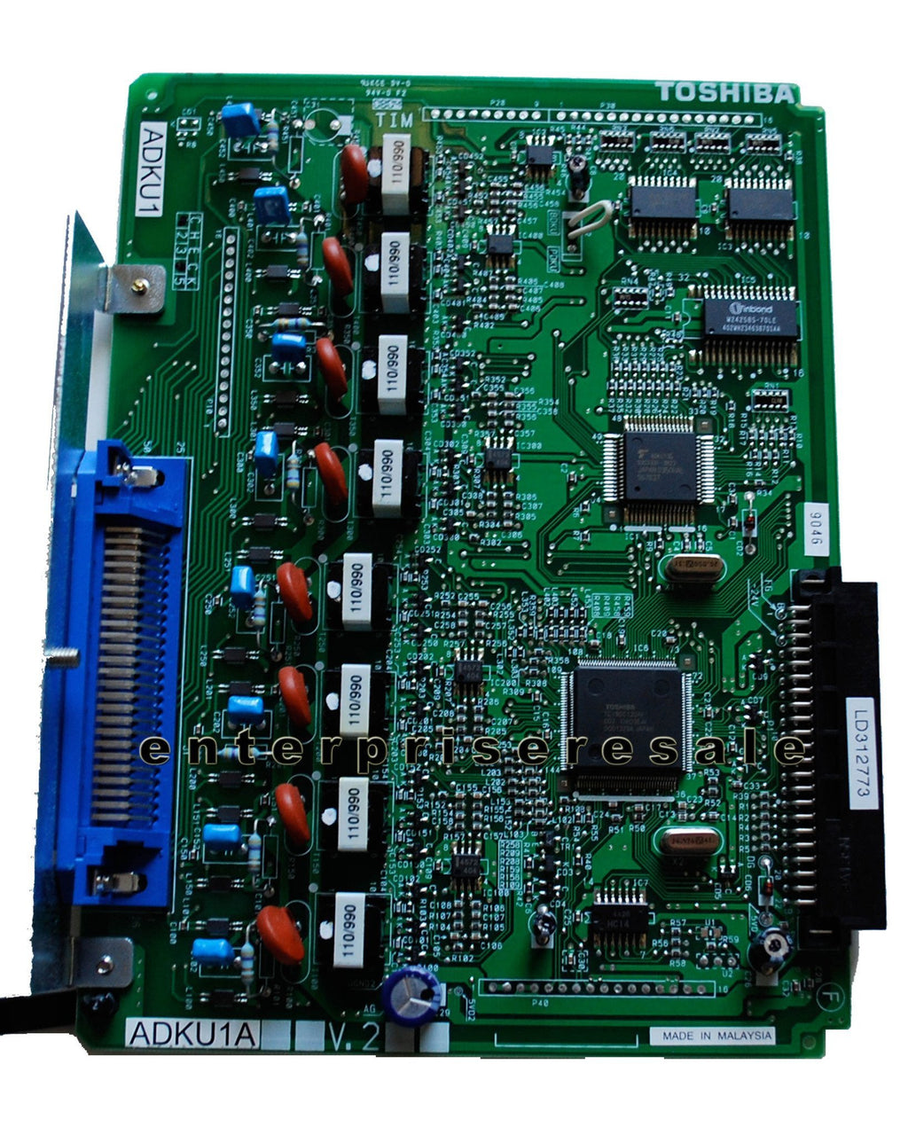 Toshiba Phone Switching Systems, PBXs Toshiba (ADKU1A) V.2 8 Port Station Card for CTX100 ADKU1