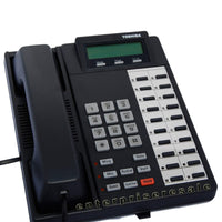 Toshiba Business Phone Sets & Handsets Toshiba DKT2020-FDSP Charcoal Display Full Duplex Speaker Phone Grade C