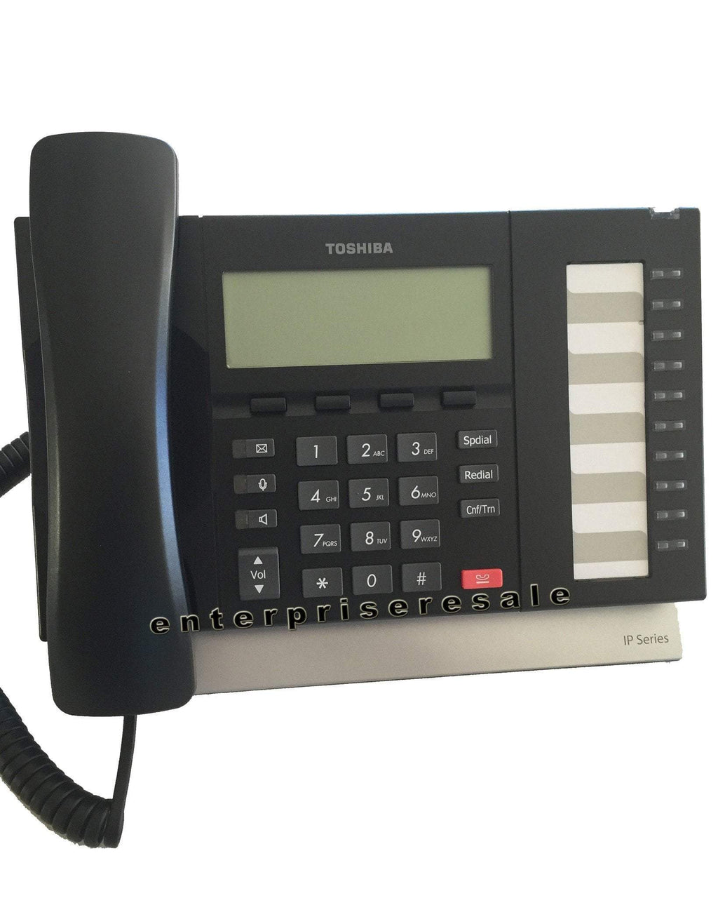 Toshiba IP Phone Toshiba (IP5122-SD) IP Phone 10 Button Speaker Display Refurbished