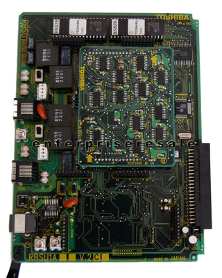 Toshiba Phone Switching Systems, PBXs Toshiba (RBSU1A) V.2 2 RBSU Circuit ISDN Basic Rate & REBS1A V.2