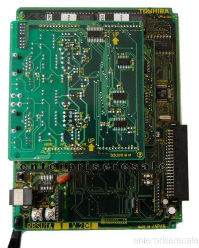 Toshiba Phone Switching Systems, PBXs Toshiba (RBSU1A) V.2 Circuit ISDN Basic Rate with REBS1A V.2 & RBSS