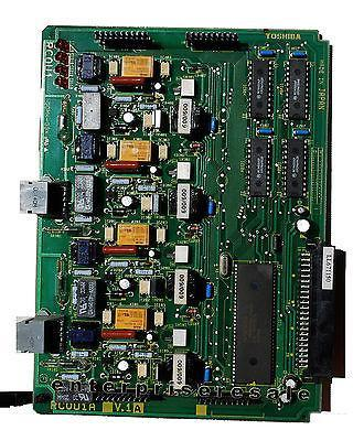 Toshiba Phone Switching Systems, PBXs Toshiba (RCOU1A) V.1 4 CO Line Card RCOU RCOU1 V.1