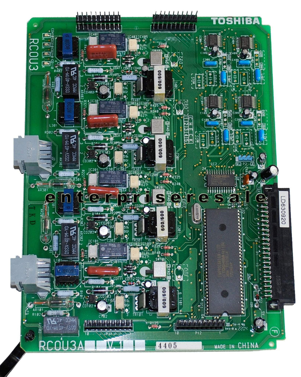 Toshiba Phone Switching Systems, PBXs Toshiba (RCOU3A) V.1 CO Line Card CTX CIX DK Strata RCOU