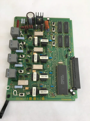 Toshiba Phone Switching Systems, PBXs Toshiba (REMU1A) V.2 4 Port E&M Trunk Circuit Card