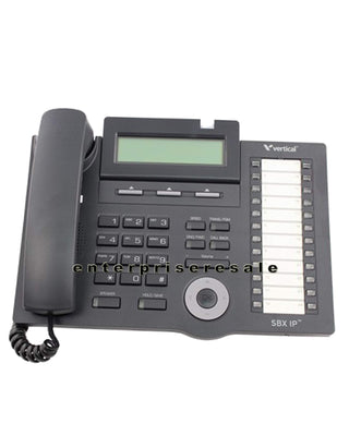 Vodavi IP Phone Vertical Vodavi SBX IP 320 24 Button Telephone 4024-00