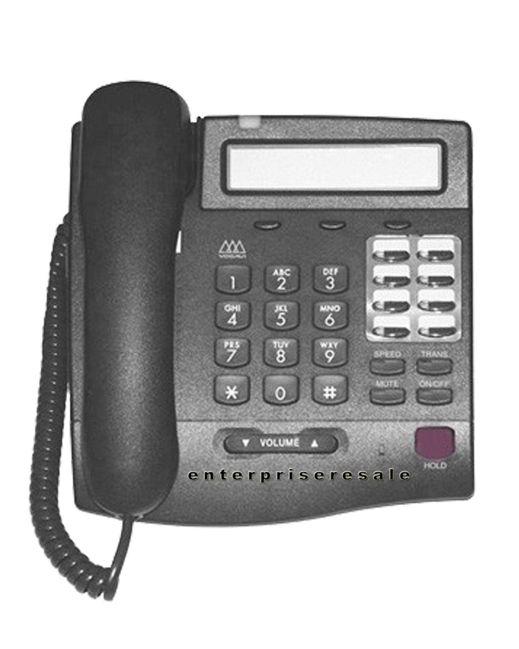 Vodavi Phone VODAVI Vertical 3012-71 8 Button Executive Key Display Phone