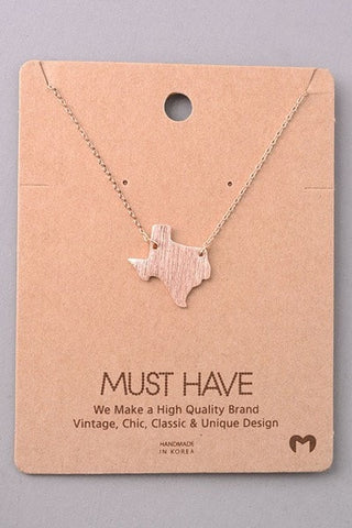 TX Love Necklace
