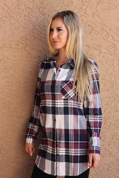 Buttoned Up Flannel