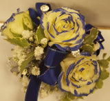 Tipped Roses Corsage