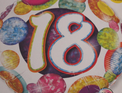 Happy 18th Balloon