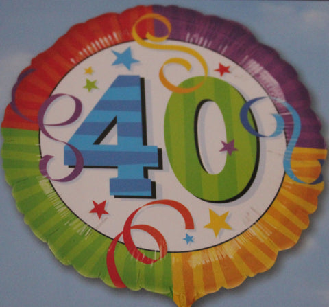 Happy 40th Balloon