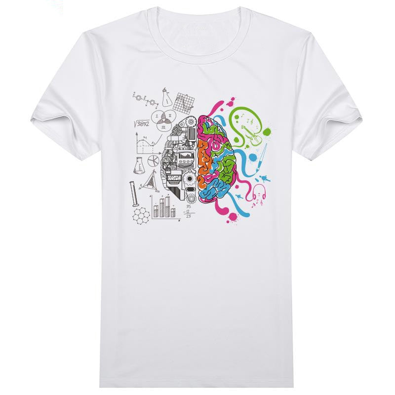 Left And Right Brain T Shirt for Men & Women